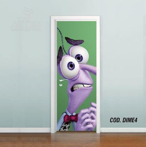 Adesivo De Porta Disney DivertidaMente mod04