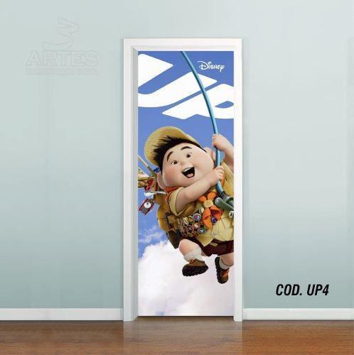 Adesivo De Porta Disney Up Altas Aventuras mod04