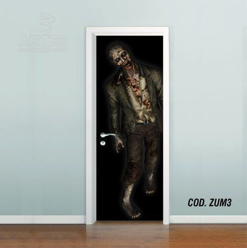 Adesivo De Porta The Walking Dead mod03