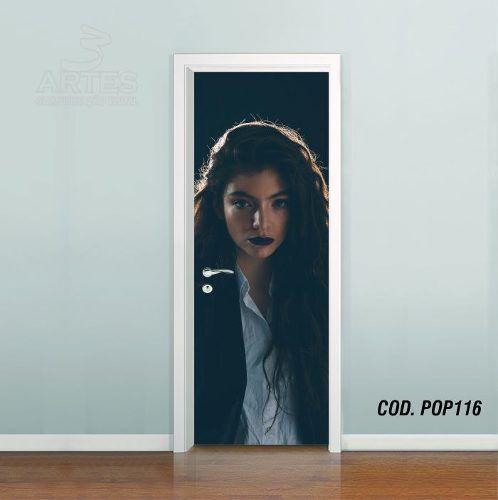 Adesivo De Porta Lorde Royals mod03