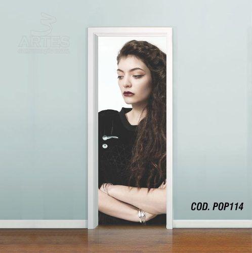Adesivo De Porta Lorde Royals mod01