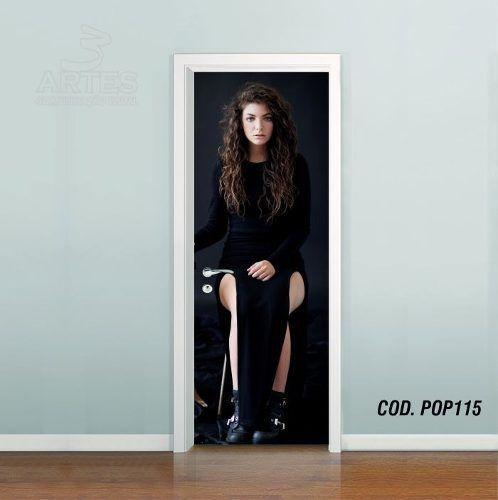 Adesivo De Porta Lorde Royals #02