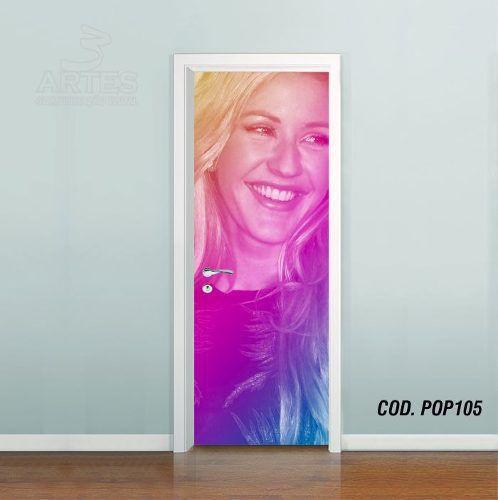 Adesivo De Porta Ellie Goulding mod02