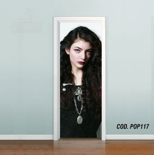 Adesivo De Porta Lorde Royals mod04