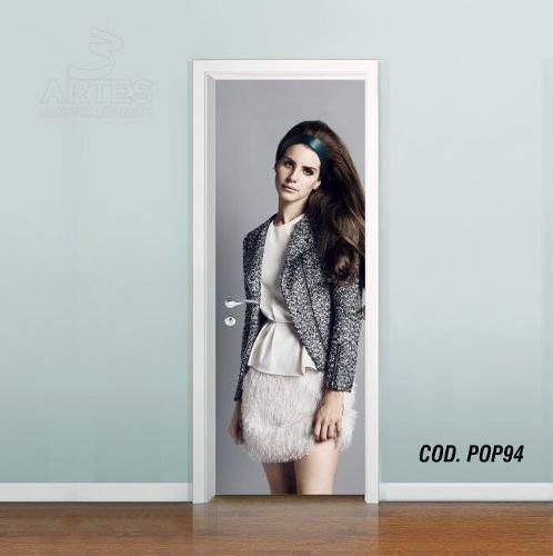 Adesivo De Porta Lana Del Rey mod02