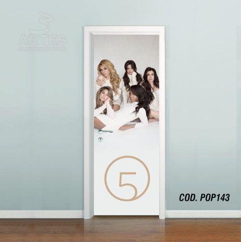 Adesivo De Porta Fifth Harmony mod02