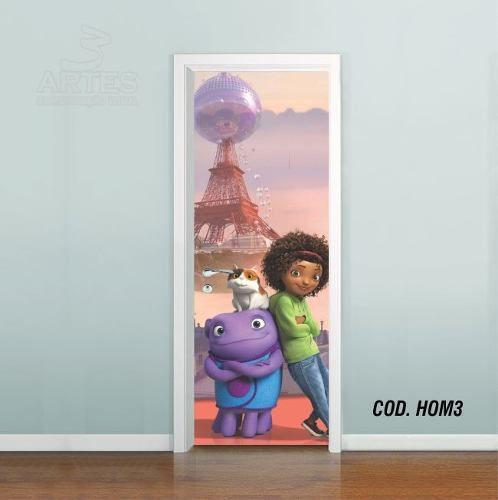 Adesivo De Porta Cada Um Na Sua Casa - Home mod03