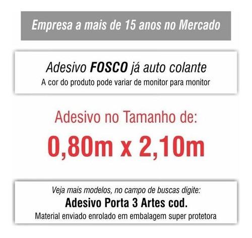 Adesivo De Porta Paisagem Natureza mod02