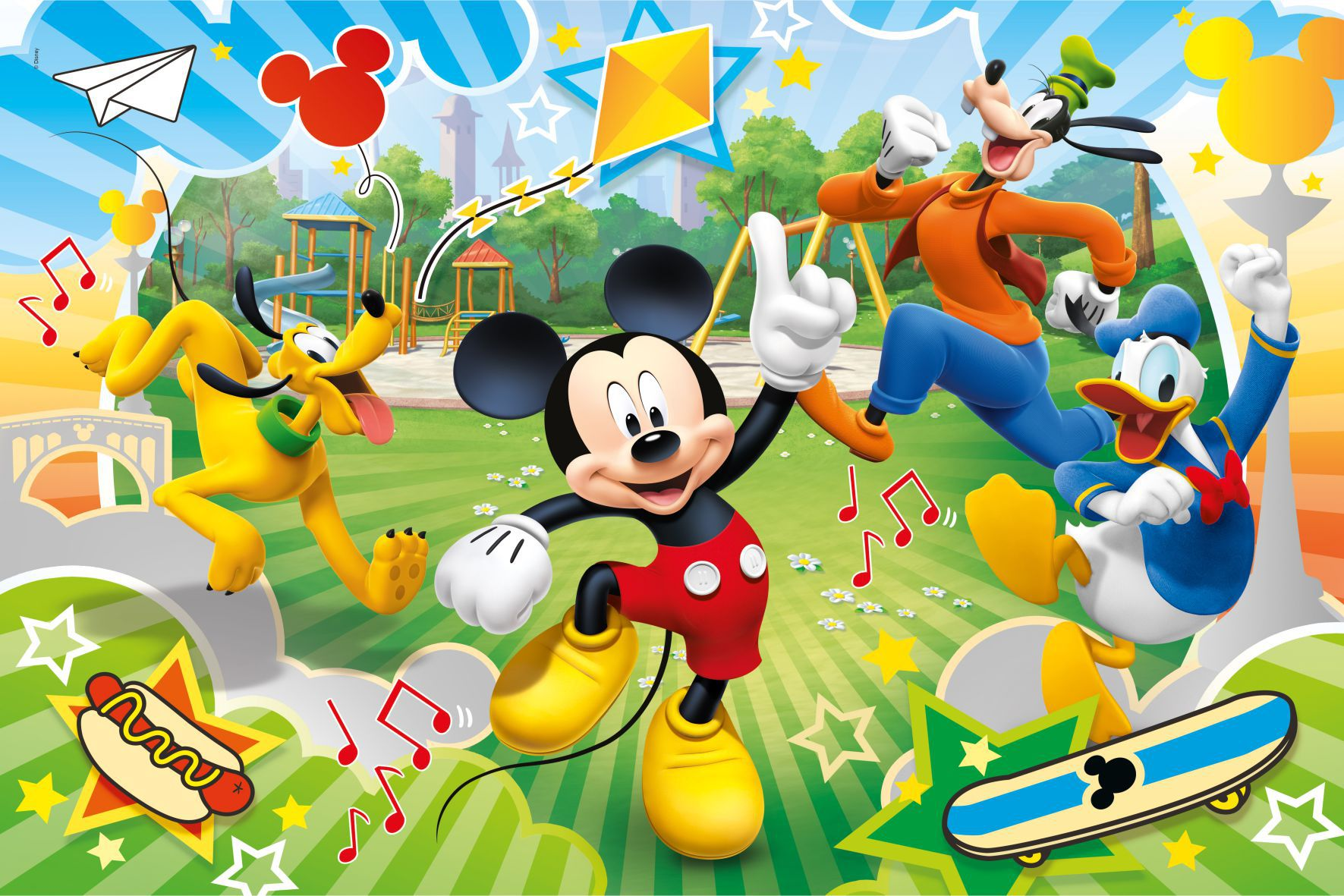 Painel Lona Mickey Mouse mod07