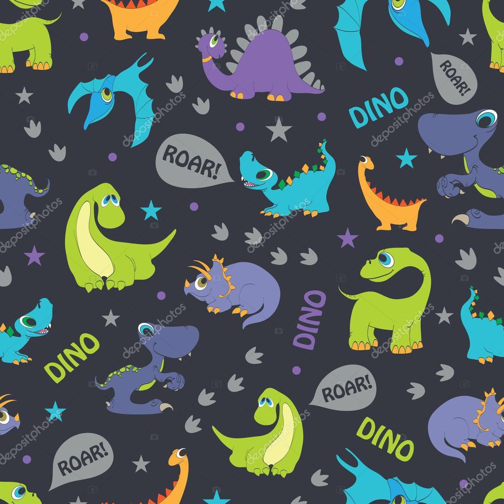 Papel De Parede Adesivo Dinossauros mod04