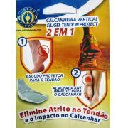 Calcanheira Vertical Siligel Tendon Protect 2 Em 1- Ortho Pauher