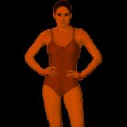Cinta Modeladora Completa com Colchetes Frontais Macom Ref 2001B