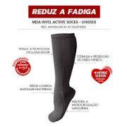 Meia Invel® Actiive Socks - 3/4 - Unissex (p/ descanso) - Par