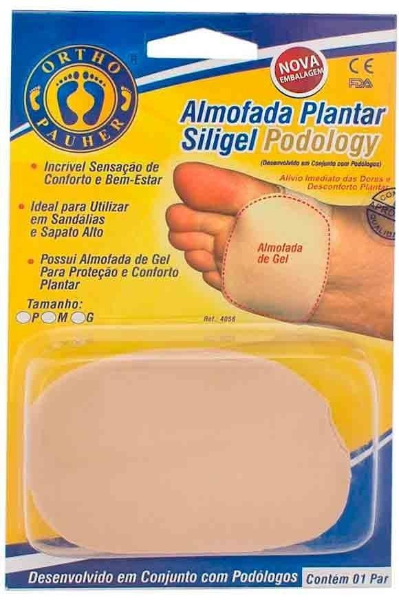 Almofada Plantar Siligel Podology -Ortho Pauher