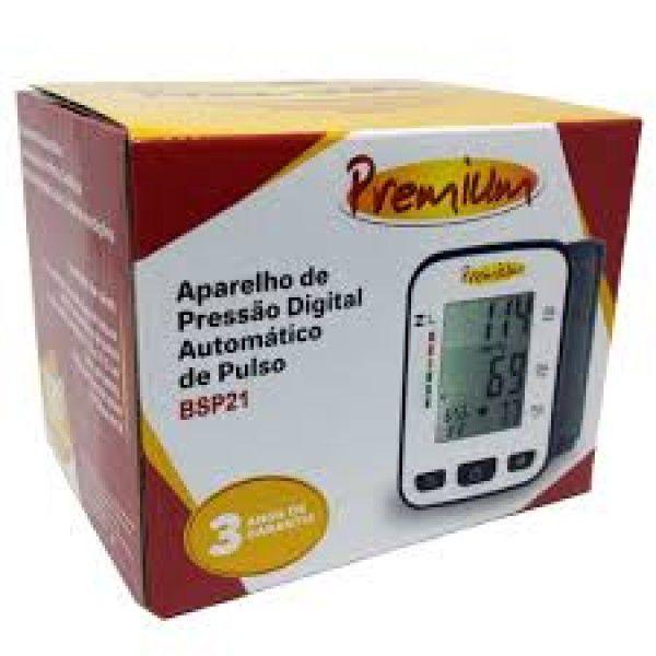 Aparelho de Pressão Digital Premium Automático de Pulso BSP21