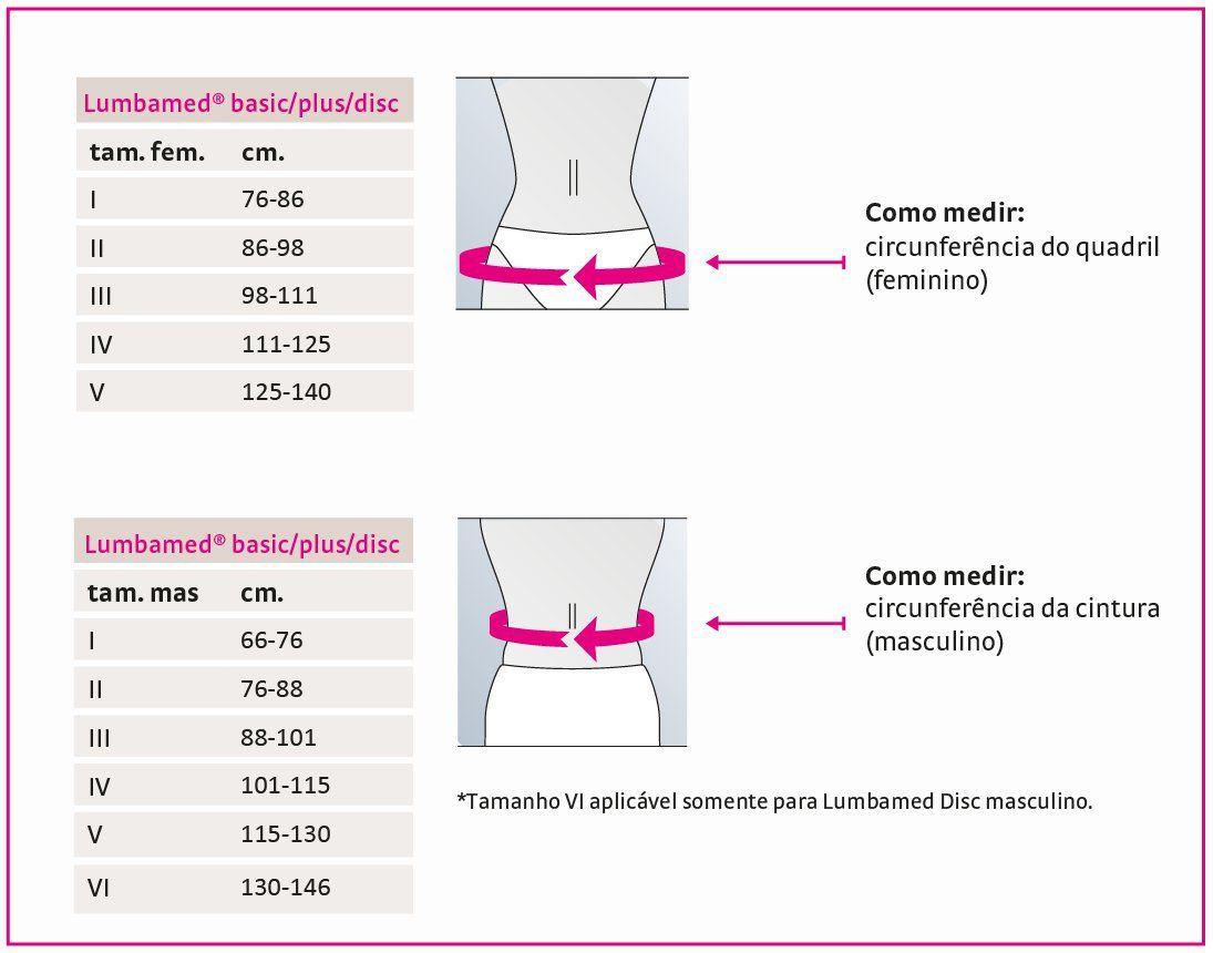 Cinta Lombar Ortopédica Lumbamed Basic- Medi