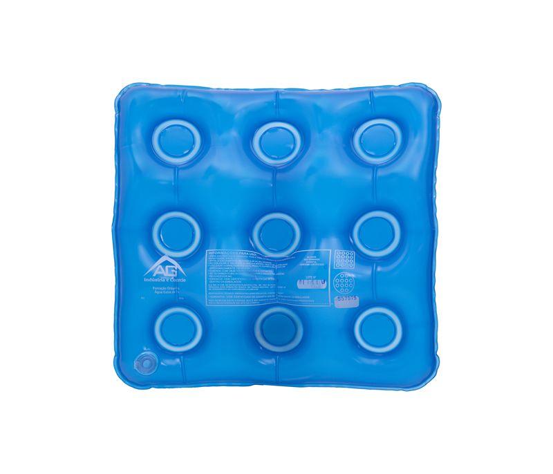 Forração Ortopédica Água Quadrada Caixa de Ovo