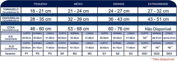 MEIA CALÇA-PONTEIRA ABERTA NATURAL ESCURO SECT COMFORT PREMIUM 20/30 MMHG