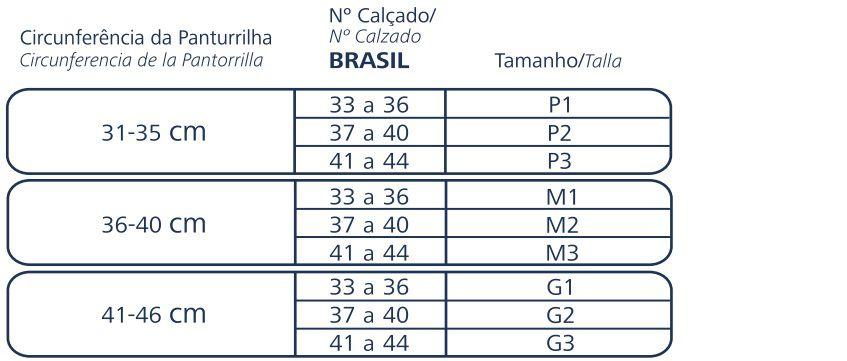 Meia Esportiva Sigvaris 20-30 mmHg Performance  20/30MMHG