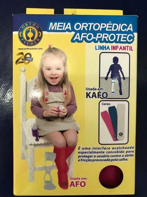 Meia Ortopédica Infantil Afo-protec Ortho Pauher