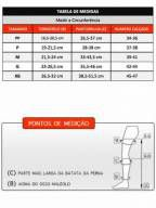 Meia Supportiline soft AD 18-22 unissex