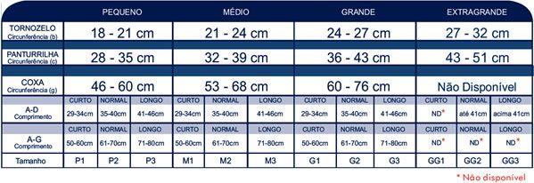 Select confort premium Panturrilha ponteira aberta natural escuro 20-30