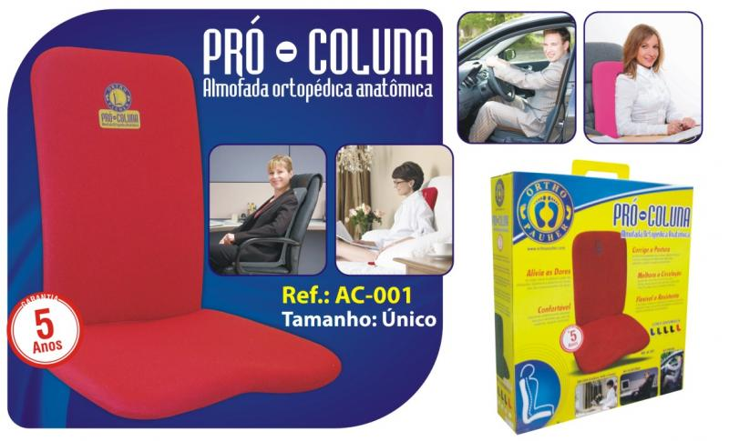 Pró Coluna Almofada Ortopédica Anatômica - Ortho Pauher