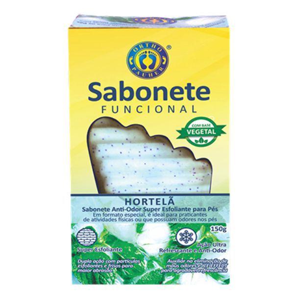 Sabonete Funcional Antiodor e Superesfoliante para os Pés - Ortho Pauher