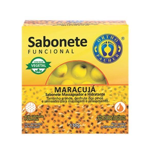 Sabonete Funcional Massageador e Hidratante Maracujá - Ortho Pauher