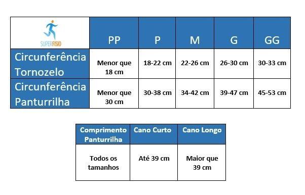 SUPORTE PARA COMPRESSÃO DE PANTURRILHA ACTIVE COMPRESSÃO 20/30 MMHG