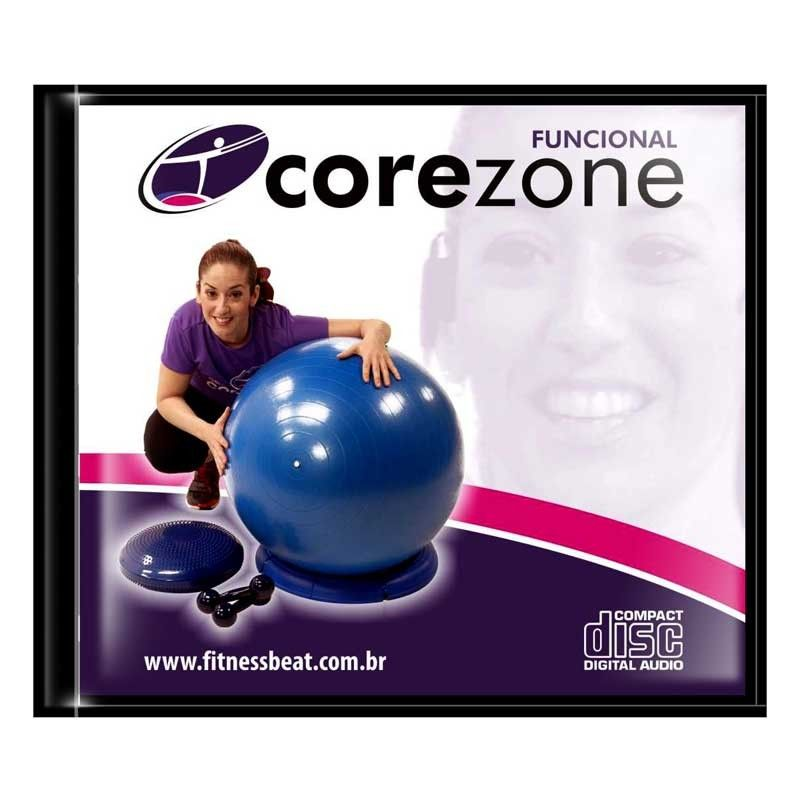 CD Corezone Fitball / Peso / Disc O Sit