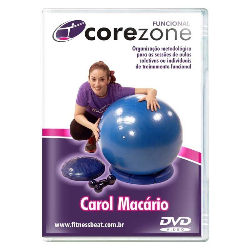 DVD Corezone Fitball / Peso / Disc O Sit
