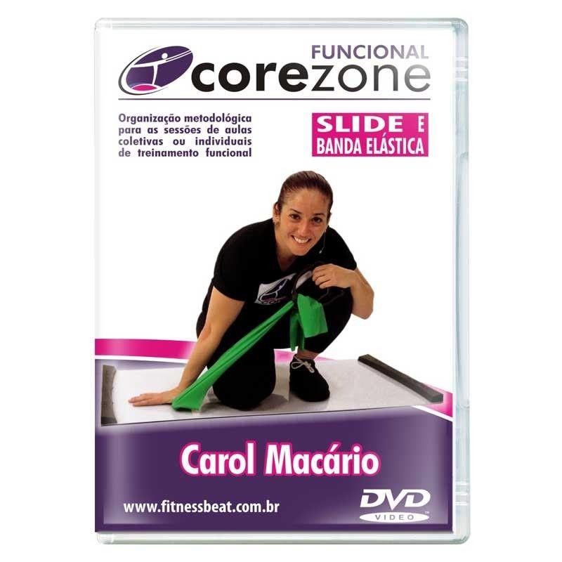 DVD Corezone - Slide Board/Banda Elástica