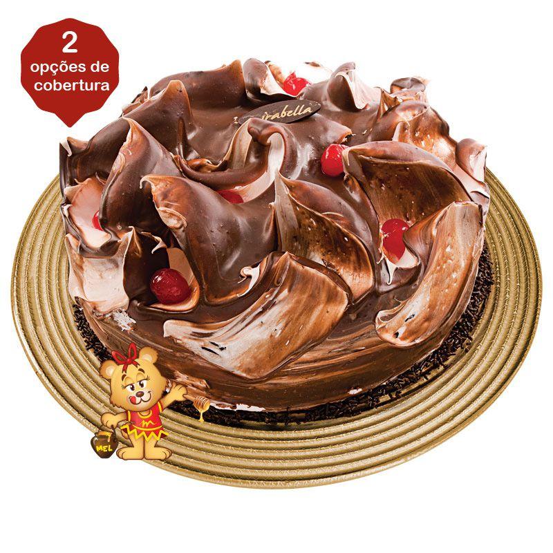 Bolo de Chocolate  - www.doceriamirabella.com.br