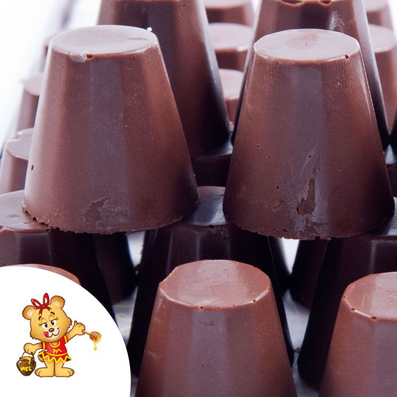 Bombom Copinho de Chocolate - pedido mínimo 200g  - www.doceriamirabella.com.br
