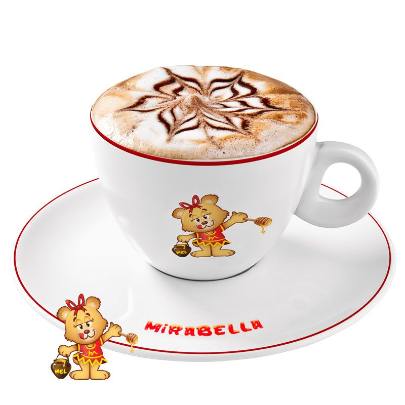 Café com Leite  - www.doceriamirabella.com.br