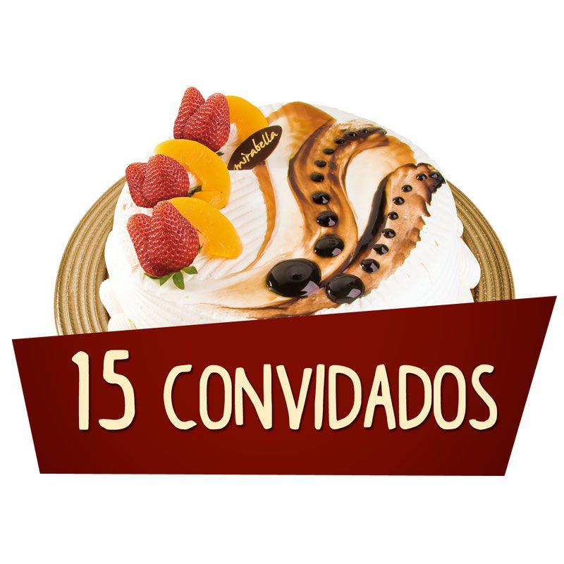 Kit Festa - 15 Convidados  - www.doceriamirabella.com.br