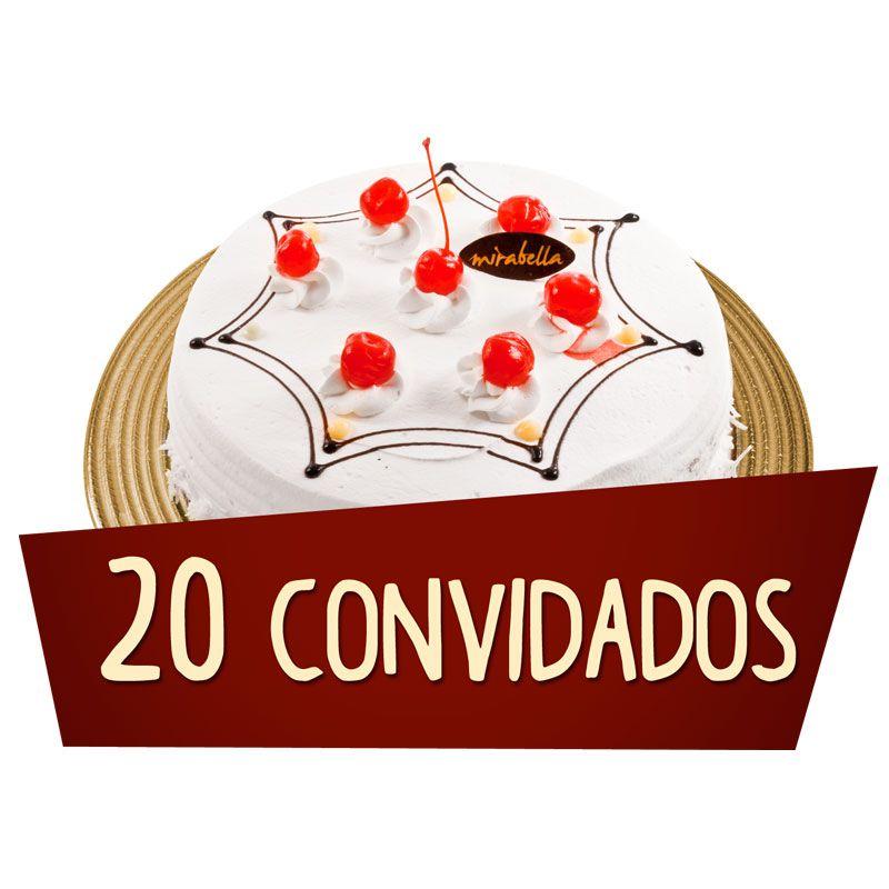 Kit Festa 20 Convidados  - www.doceriamirabella.com.br
