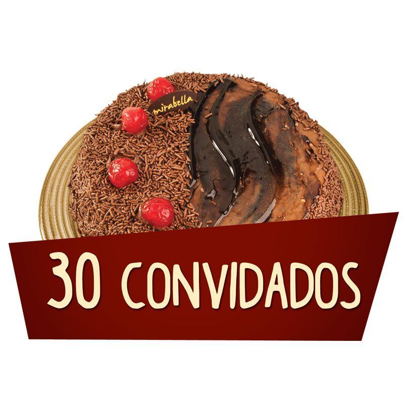 Kit Festa 30 Convidados  - www.doceriamirabella.com.br