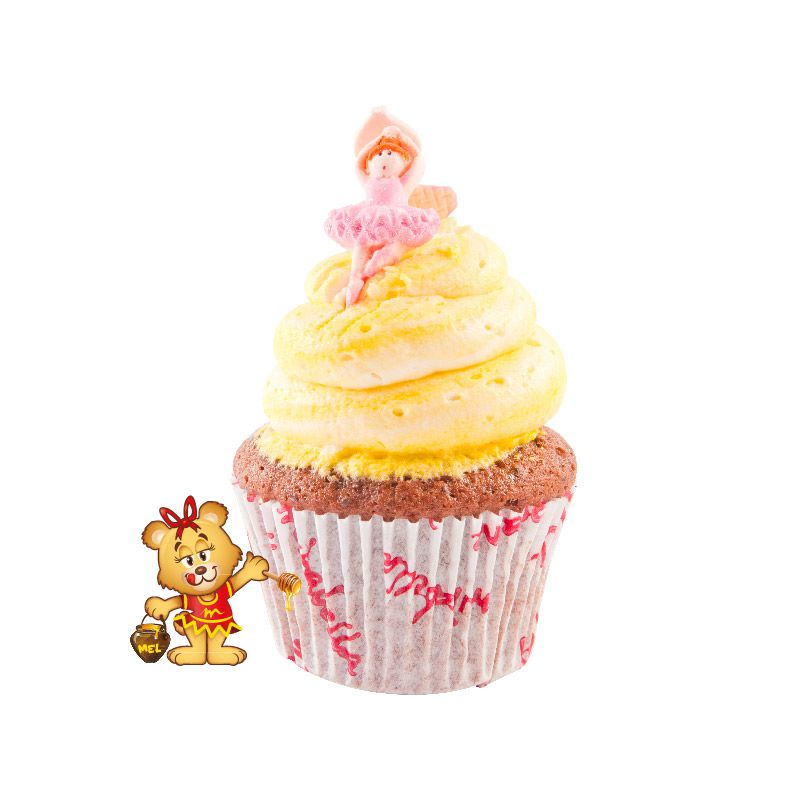 Mini Cup Cake - Kit com 15 unidades  - www.doceriamirabella.com.br