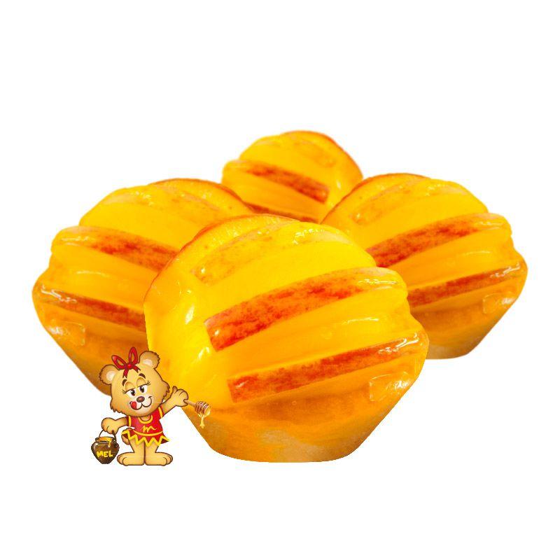 Mini Torta de Maçã - Kit com 25 unidades  - www.doceriamirabella.com.br