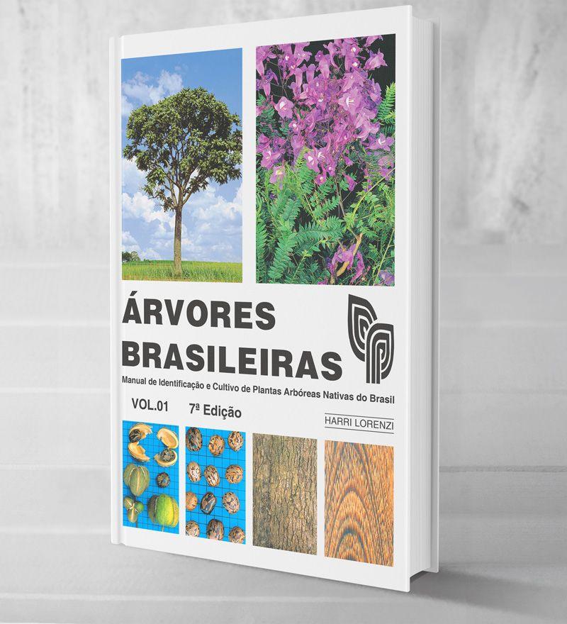 Árvores Brasileiras V-1 -8ª edição lançada em 2020