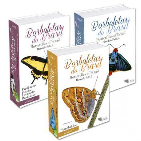 Borboletas do Brasil – 3 volumes