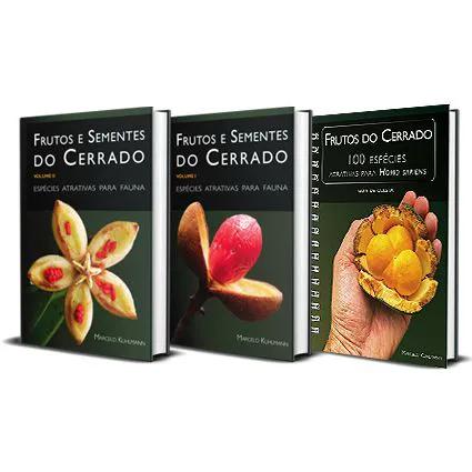 Coleção completa dos Guias para Frutos do Cerrado