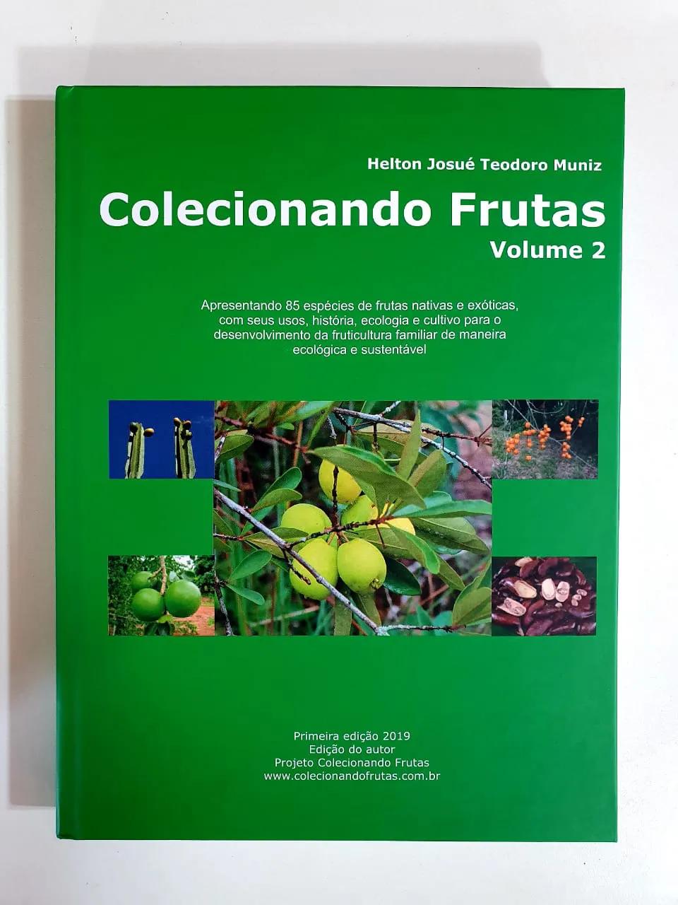 LIVRO COLECIONANDO FRUTAS VOLUME 2