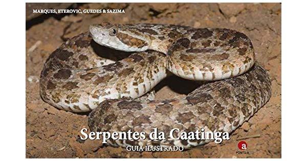Serpentes da Caatinga – Guia Ilustrado