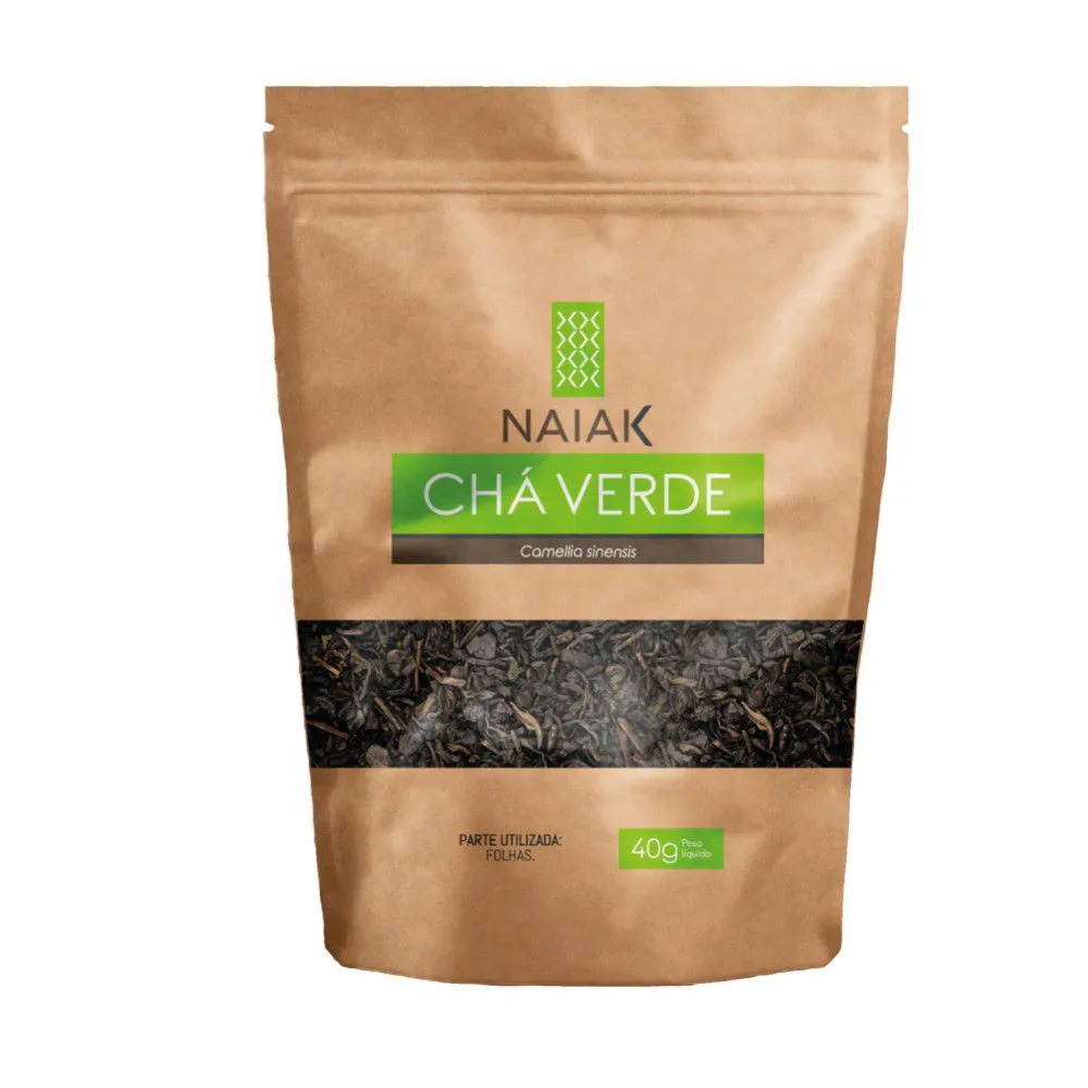 Chá Verde In Natura 40g – Naiak