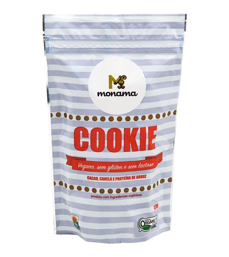 Cookie Orgânico de Cacau e Canela 90g - Monama