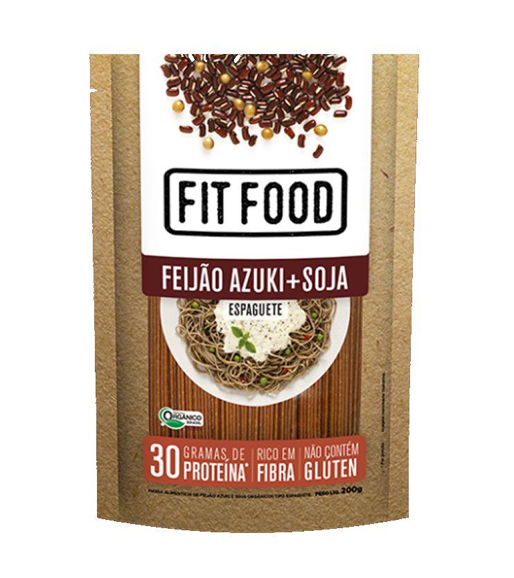 Espaguete de Feijão Azuki e Soja Orgânico 200g - Fit Food