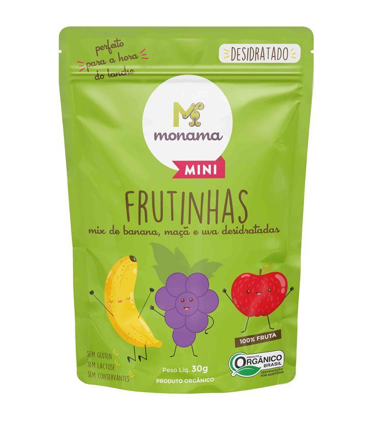 Frutinhas Orgânicas Desidratadas 45g - Monama Mini